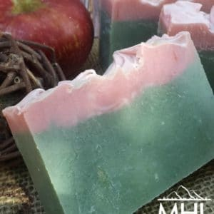 McIntosh Cold Processed Soap made by My Homestead Life