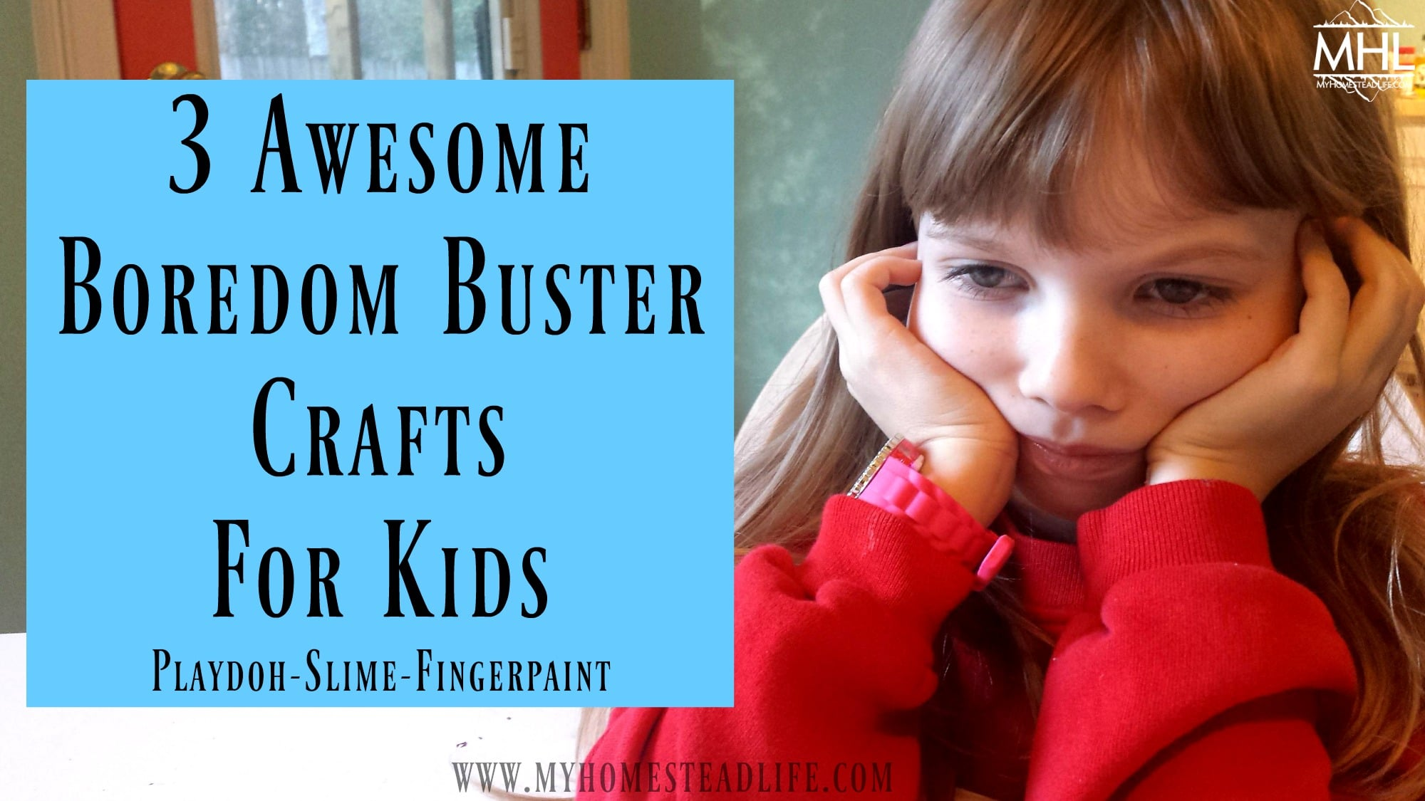 3 Awesome Boredom Buster Crafts for Kids